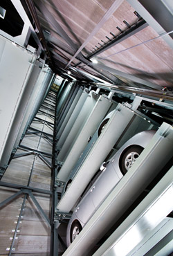 Automated Tower Parking System, AVSRS